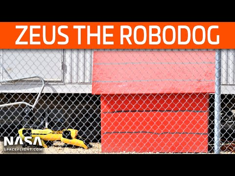 SpaceX Boca Chica - Zeus the Robodog Spotted - High Bay Rises Rapidly