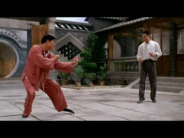 Jet Li VS Wu Shu Master Travel Video