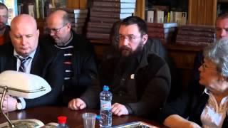 Стерлигов Герман Львович. Встреча в библиотеке имени В.В. Маяковского.