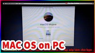Cách cài MAC OS lên PC/Laptop dễ nhất