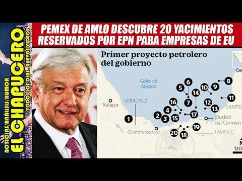 AMLO encuentra yacimientos petroleros escondidos por EPN que entregaría a EU