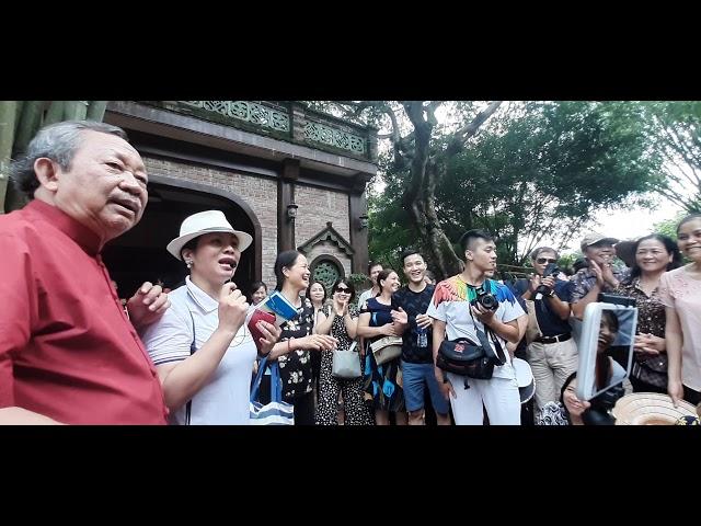 GSTS KH Bùi Quốc Châu phóng công tại khu du lịch Long Việt - Ba Vì