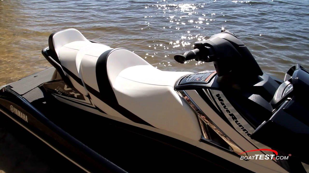 Yamaha Vx Cruiser Ho 2016 Test Video By Boattest