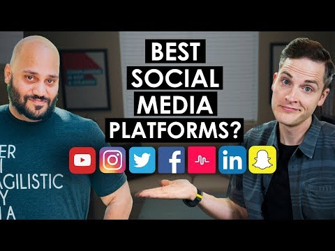 What Social Media Platforms Should I Use?