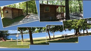 Wolf Creek State Park Beach & Camping, Lake Shelbyville, Illinois
