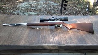 Shooting the Marlin 60 22lr Stainless Steel Rifle
