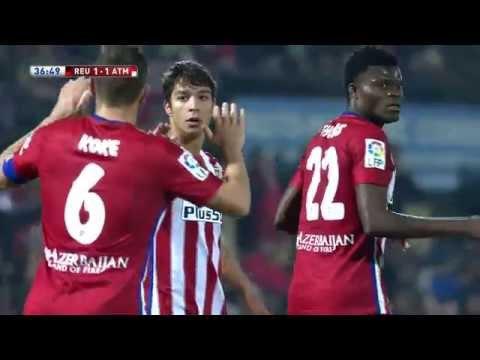 Gol de Vietto (1-1) CF Reus Deportiu - Atlético de Madrid