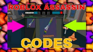 ROBLOX ASSASSIN 2 MORE EARLY (NEW) CODES 2019- https://mixer.com/Chelsea597