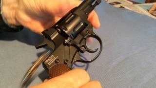 Gletcher Nagant (NGT) revolver: Operating the action