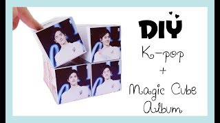 DIY _ Kpop with Magic Cube album _ Happy Birthday to EXO Suho