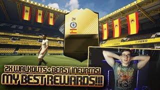 FIFA 17: INFORM WALKOUT! MY BEST FUT CHAMPIONS REWARDS😱 (DEUTSCH) - ULTIMATE TEAM - PACK OPENING!