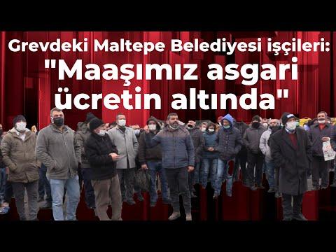 """Grevdeki Maltepe Belediyesi işçileri: """"Kara propaganda yapılıyor, maaşımız asgari ücretten az\"""