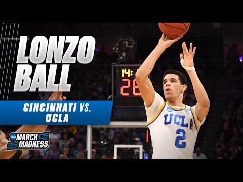 Cincinnati vs. UCLA: Lonzo Ball drops 18 for Bruins
