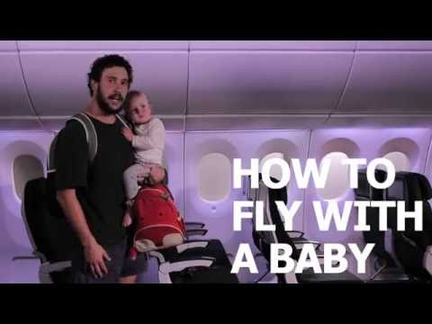 HOW TO FLY WITH A BABY WITH AIRNZ