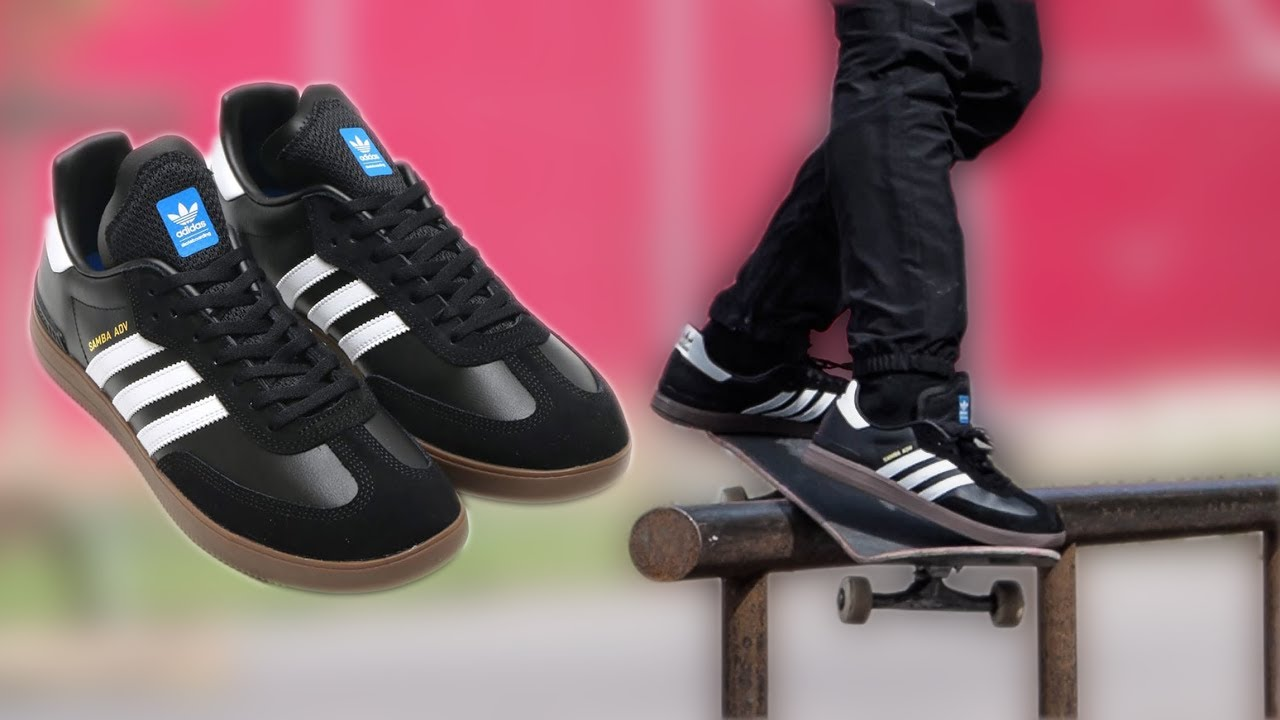 new adidas samba adv wear test youtube. Black Bedroom Furniture Sets. Home Design Ideas