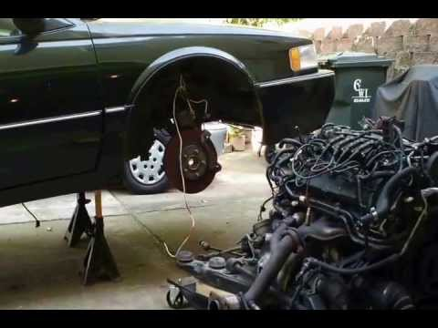 1997 Cadillac Deville With A Bad Belt And Belt Tensioner