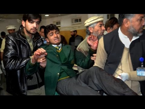 Taliban Kill More Than 100 People in Attack on School in Pakistan