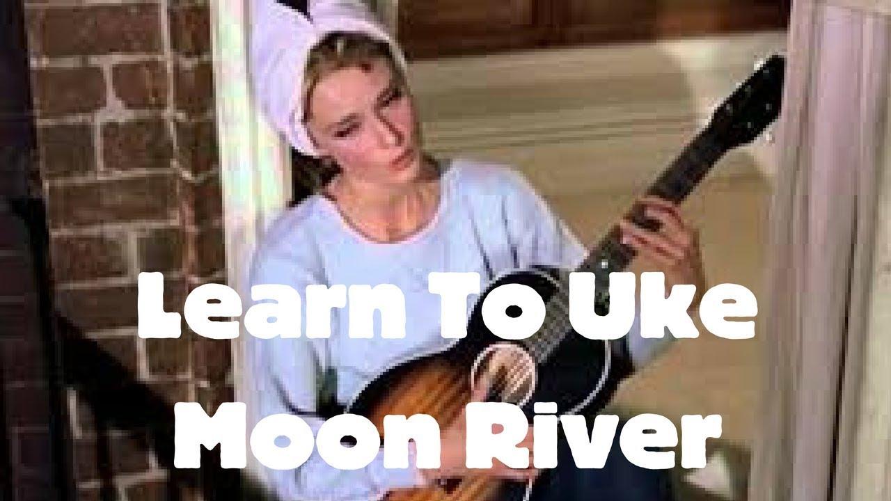 Moon River Henry Mancini Ft Audrey Hepburn Ukulele Tutorial