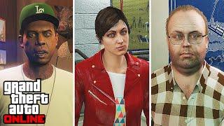 GTA Online: The Movie - Grand Theft Auto 5 All Cutscenes