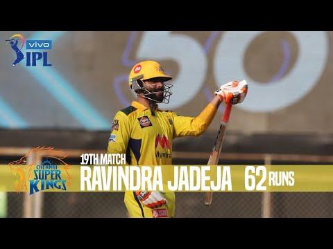 Ravindra Jadeja's 62 Runs Against Royal Challengers Bangalore  19th Match Indian Premier League