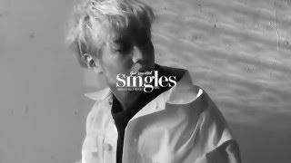 160310 Taemin - Singles Korea Photoshoot Behind the Scenes