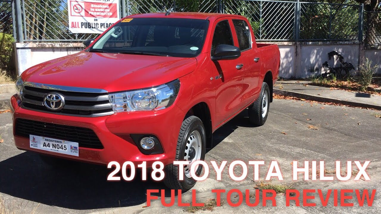 2018 Toyota Hilux E 2 4l Mt Full Tour Review Youtube