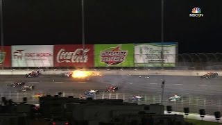 IndyCar wreck at Texas collects eight cars