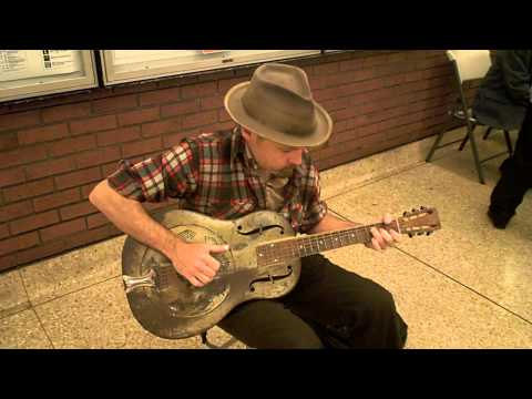 David - Untitled Rag - Vintage National Resonator - Berkeley BART