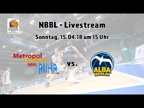 NBBL Playoffs Metropol Baskets Ruhr - ALBA BERLIN