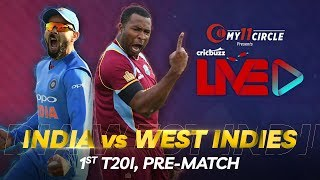 Cricbuzz LIVE: India v West Indies, 1st T20I, Pre-match show