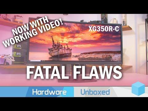 ViewSonic XG350R-C Review, Bizarre Problems Hurt Great Gaming Performance