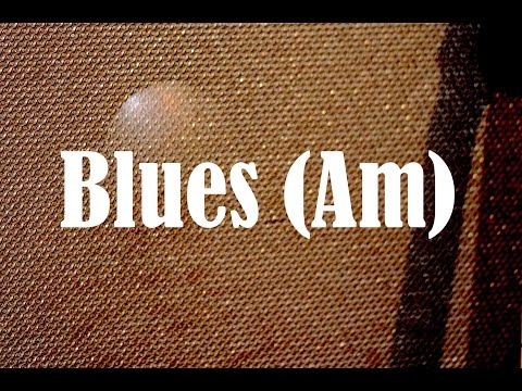 A Minor Blues Backing Track - Quist