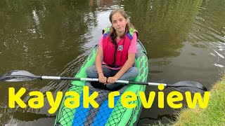 Intex Challenger K1 Kayak review - Narrowboat Girl