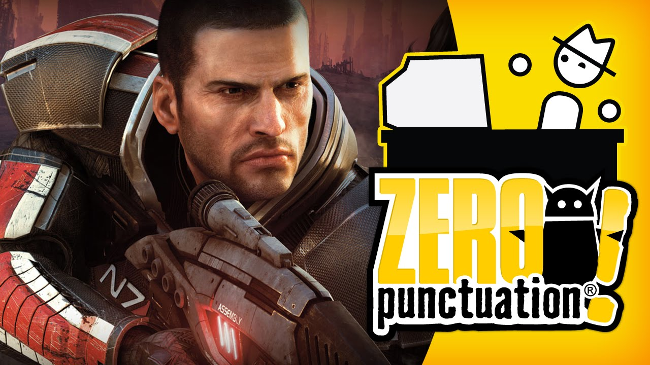 MASS EFFECT 2 (Zero Punctuation) (Video Game Video Review)