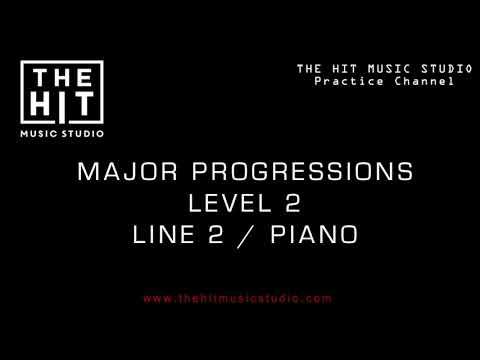 Major Harmony Progressions Line 2 / The Hit Music Studio