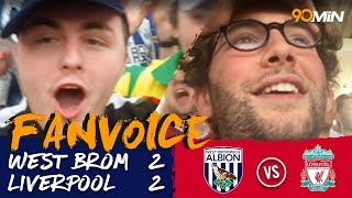 West Brom 2-2 Liverpool | Rondon scores late equaliser as West Brom draw vs Liverpool! | Fanvoice
