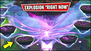 🔴 NEW FORTNITE PORTAL EVENT RUNES EXPLODING *RIGHT NOW*!! THE FLOATING ISLAND RUNE PORTAL EVENT