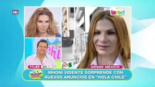 Mhoni vidente hace nuevas predicciones en Hola Chile
