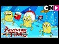 Adventure Time | Ninjas Protecting Dr Princess | The Chamber of Frozen Blades | Cartoon Network