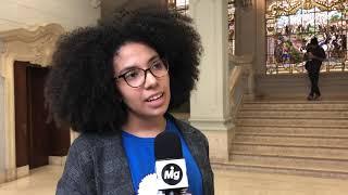 Letícia Chagas - Primeira presidente negra do Centro Acadêmico de Direito da USP