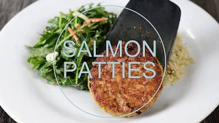 self proclaimed foodie salmon patties