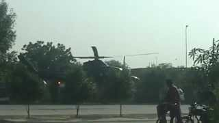 Bahria town Malik Riaz helicopter video