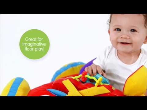 Smyths Toys - Playgro Music and Lights Comfy Car