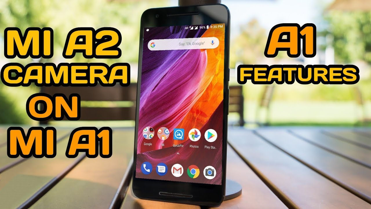 How to install Mi A2 Camera on Mi A1 | Complete Guide!!