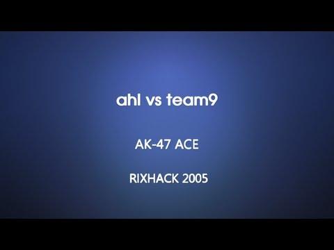 Rixhack 2005 - ahl vs team9