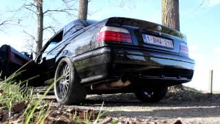 BMW 320i E36 exhaust sound