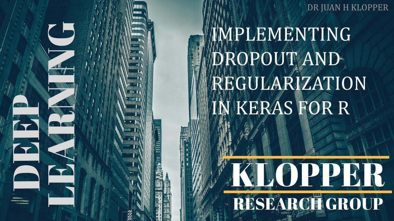 Regularization and dropout using Keras for R