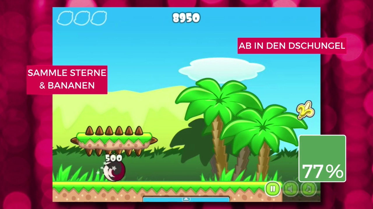 Jump And Run Spiel