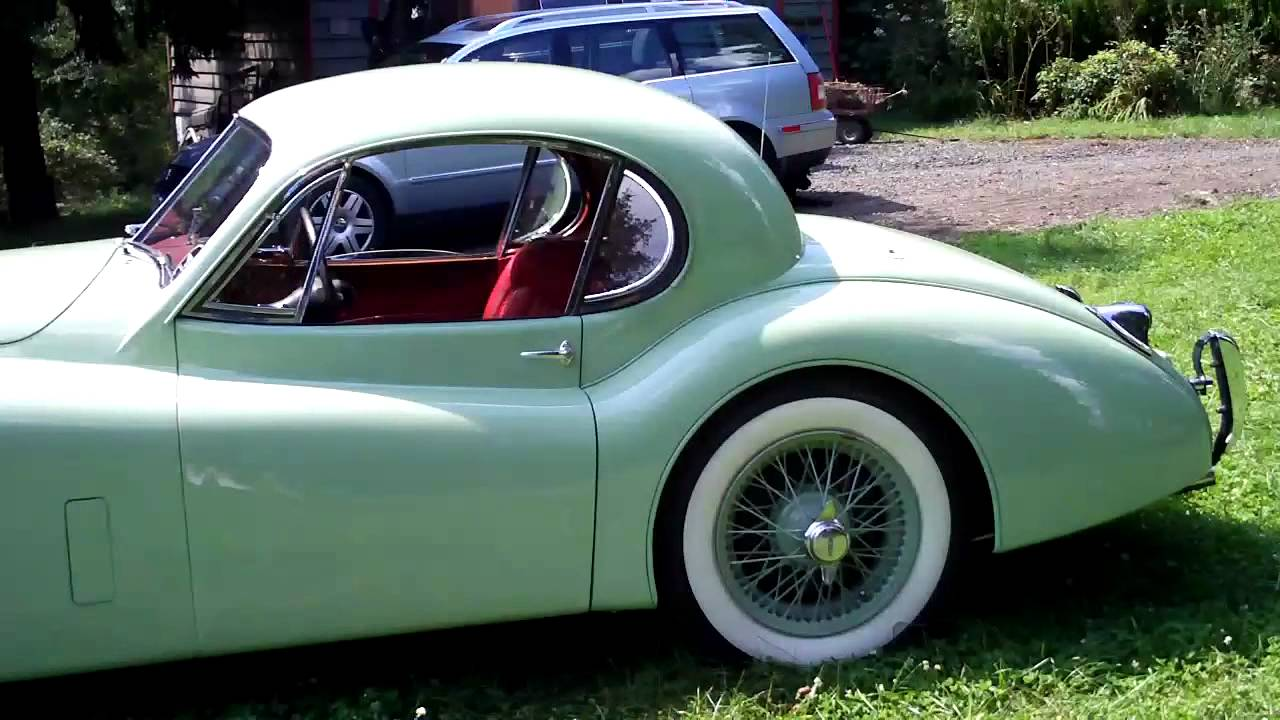 1953 jaguar xk 120 fhc fixed head coupe walk around youtube. Black Bedroom Furniture Sets. Home Design Ideas