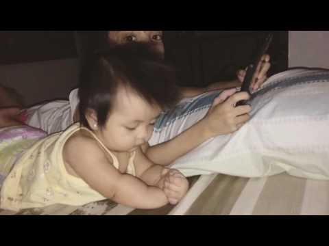 Siblings Bonding Before Sleeping